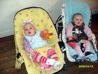 mes deux petites filles, Maylis et Lylou
