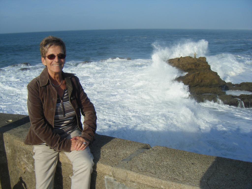 Sur la cote basque, Biarritz