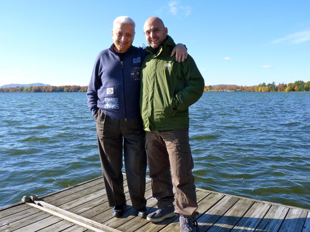 Le lac Brome...