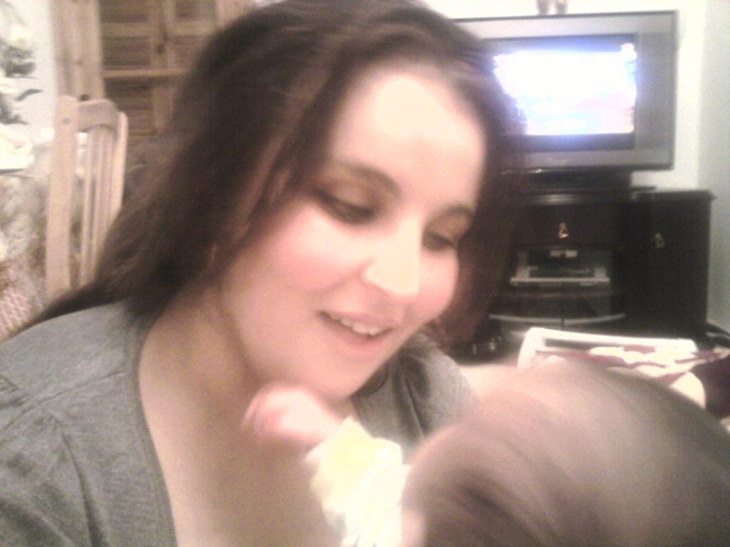 la femme de mon fils et son premier enfant