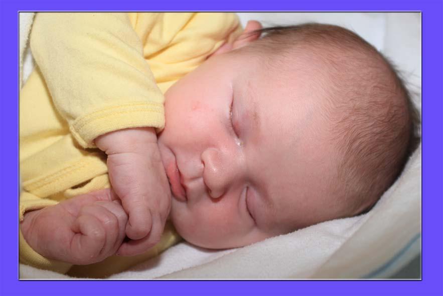 Voici mon Lüka à la naissance
