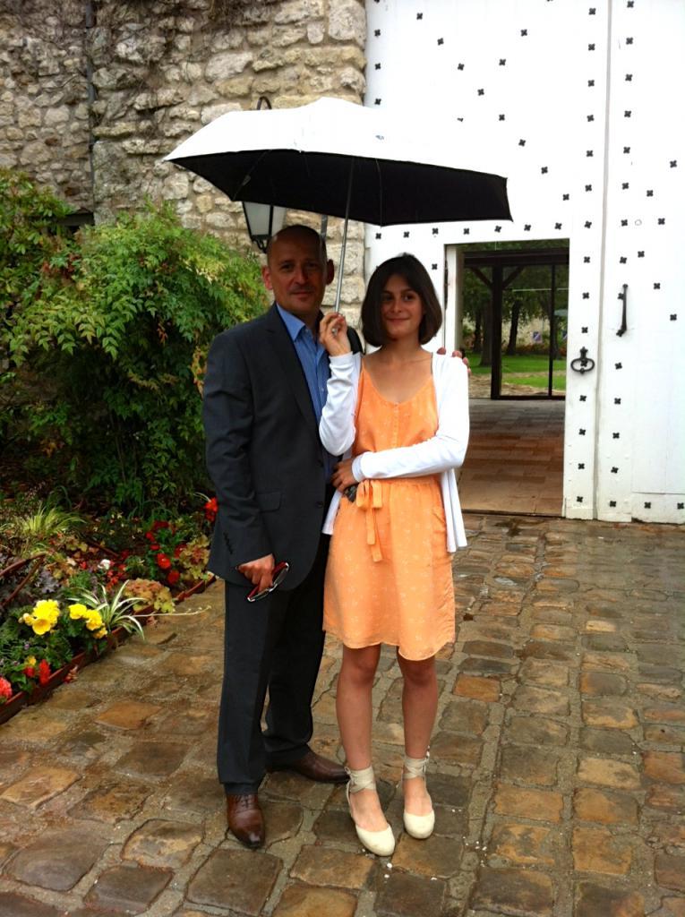 Moi et Sarah, août 2013...