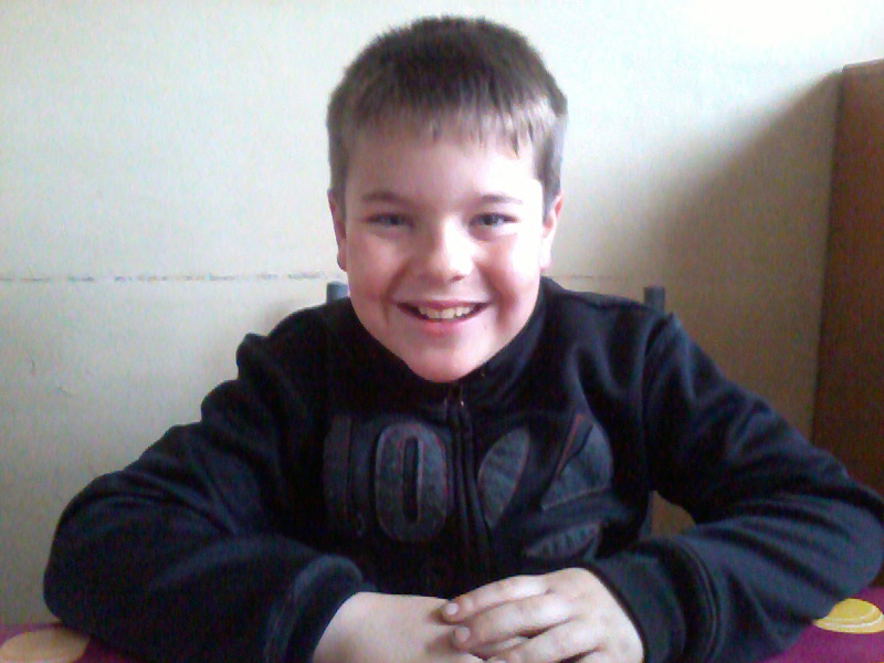 Mon fils yanis 11 ans