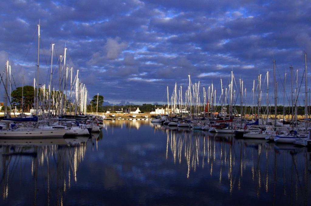 Le port de Binic en Côtes d'Armor