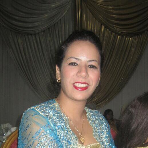 Ma fille aînée Amina.
