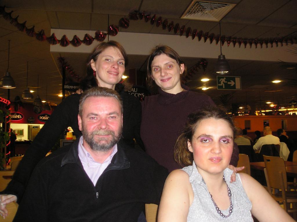 anniversaire de brabantia avec louveblanche, kathia et patymer