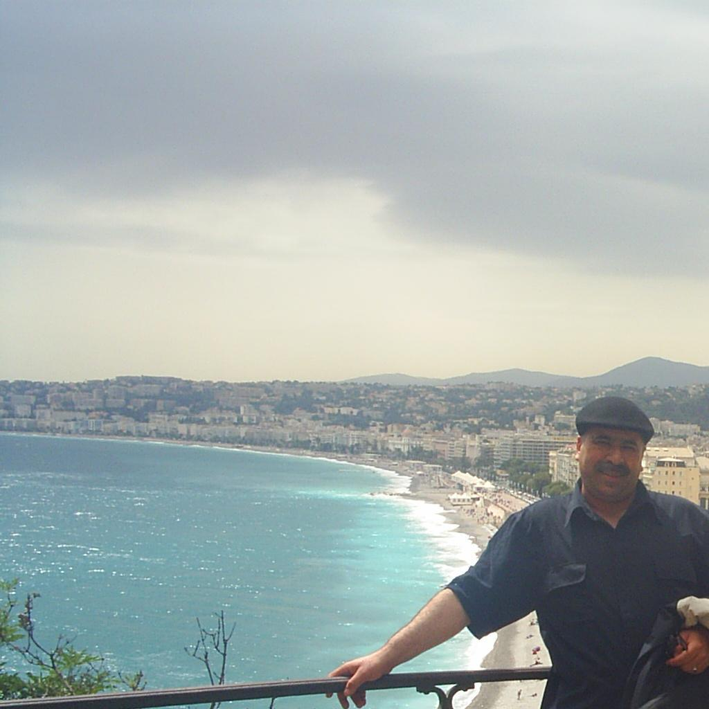 Mostafa à Nice !